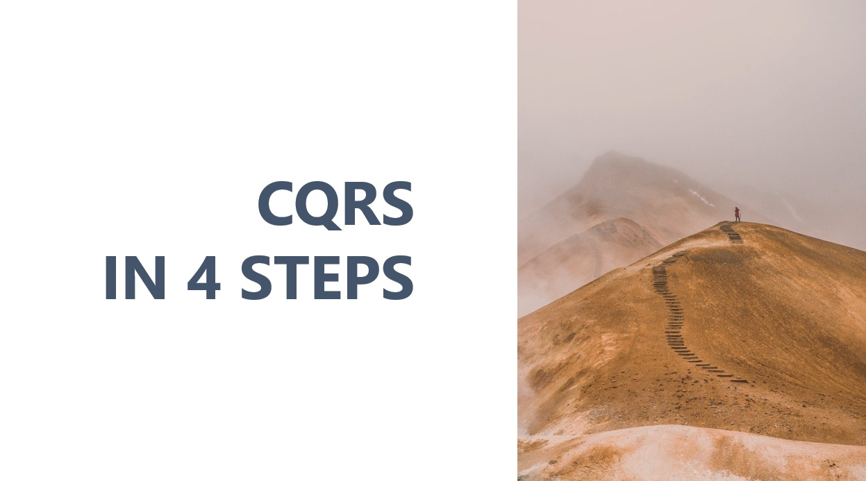 image from CQRS in 4 steps - presentation